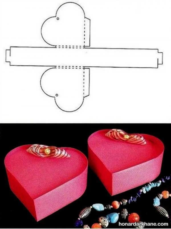 ساخت جعبه کادو زیبا