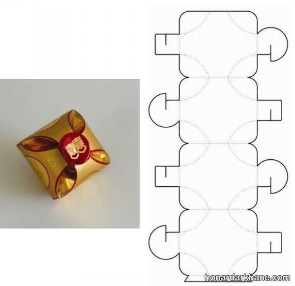 ساختن جعبه کادویی زیبا و شیک