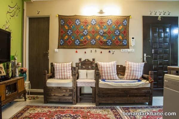 تزیین خانه با وسایل قدیمی