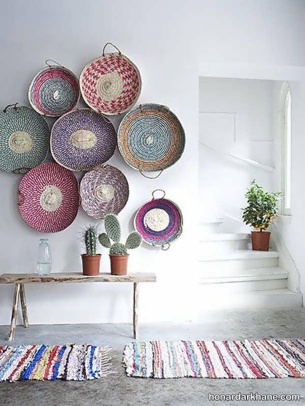 تزیین منزل با وسایل ساده و قدیمی