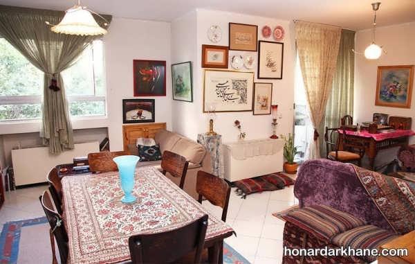 تزیینات منزل با وسایل قدیمی