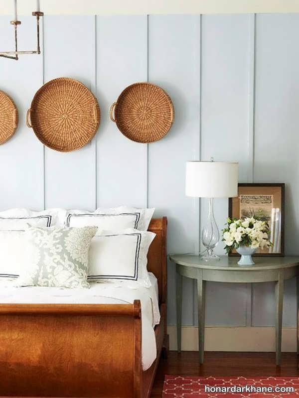 تزیین اتاق خواب با وسایل قدیمی