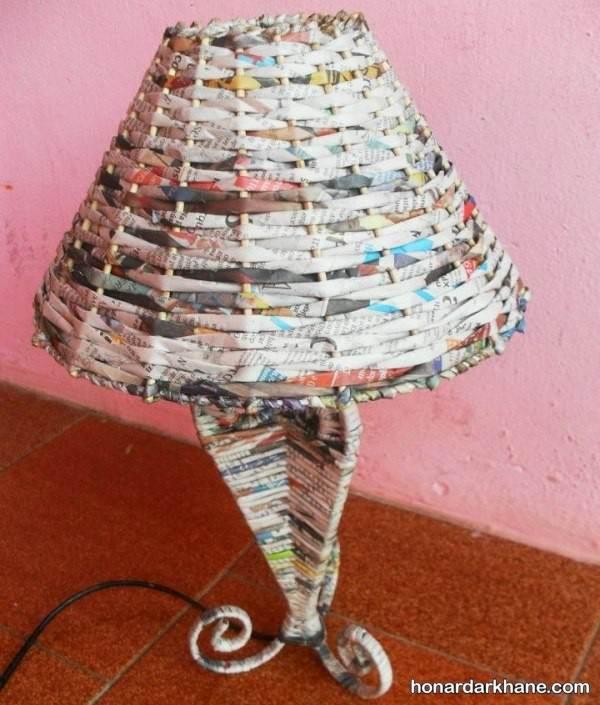 ساخت آباژور با روزنامه
