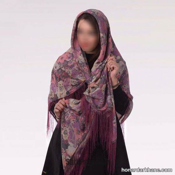 مدل روسری جدید پاییزه