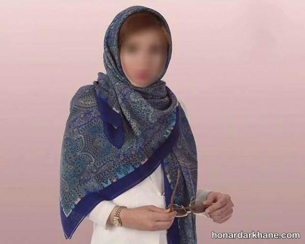 روسری جدید دخترانه