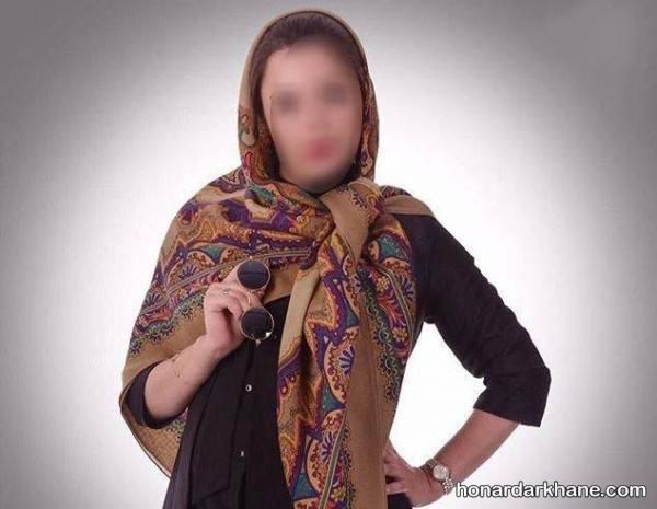 روسری پاییزه دخترانه