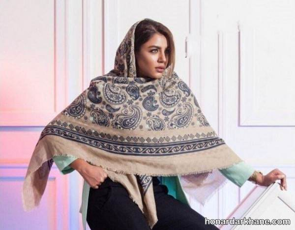روسری سنتی پاییزه