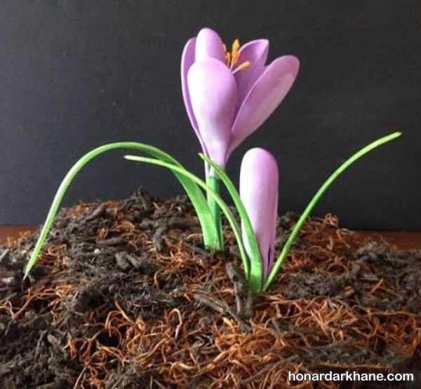 آموزش ساخت گل