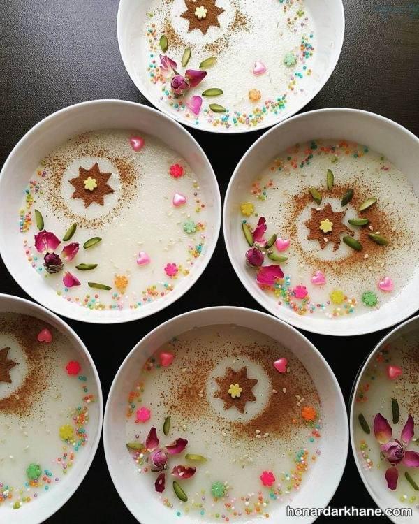 دیزاین شیر برنج
