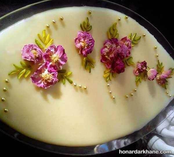 تزیین جدید شیر برنج