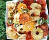 طرز تهیه چیپس میوه برای شب یلدا و روش های خانگی خشک کردن میوه