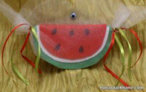 هندوانه بامزه نمدی