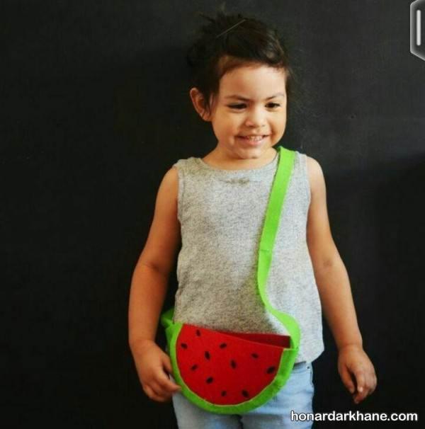 ساخت هندوانه های نمدی