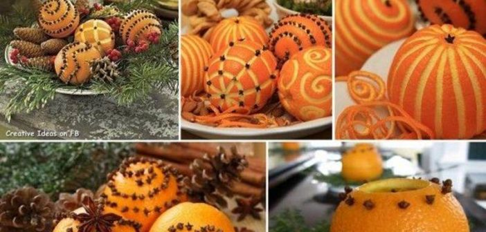 تزیین پرتقال