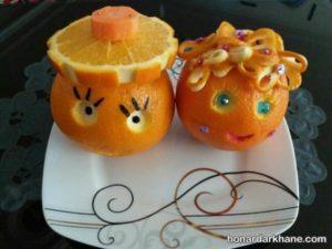 تزیین کودکان پرتقال