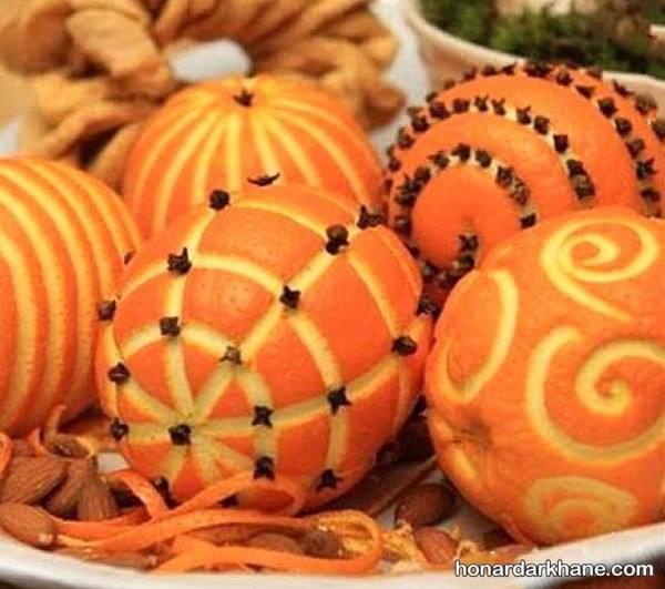 حکاکی روی پرتقال