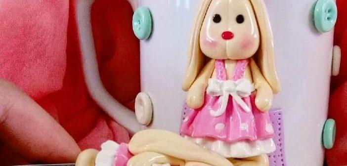 عروسک با خمیر فیمو