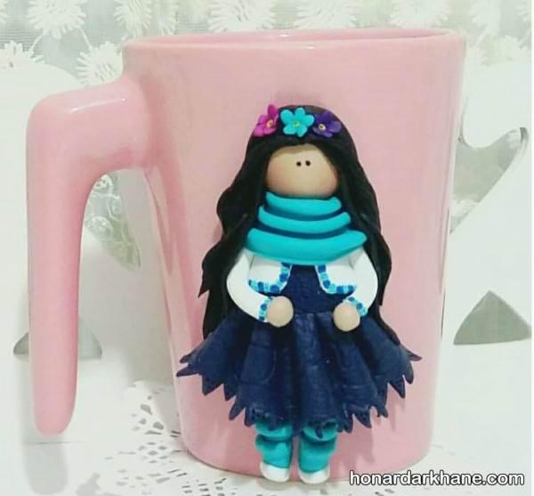 عروسک فانتزی با خمیر فیمو