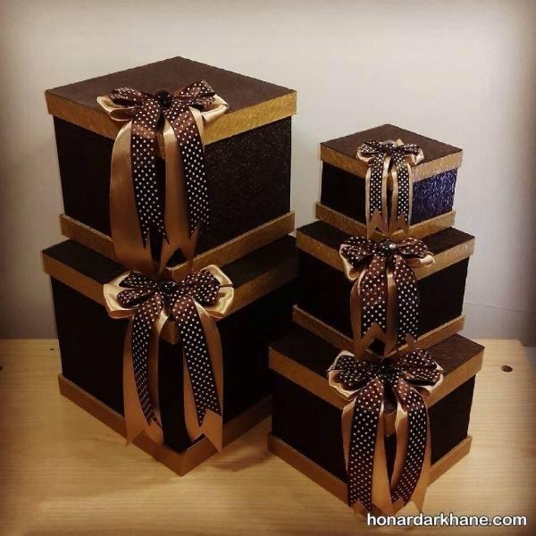 جعبه کادویی های جدید و زیبا