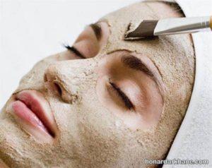 ماسک صورت با خاک
