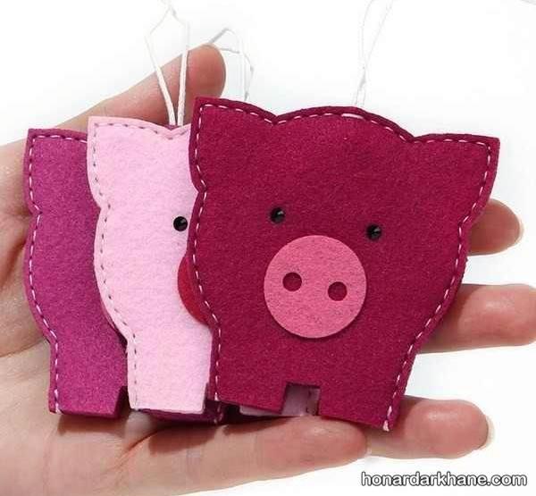 عروسک خوک برای هفت سین 98