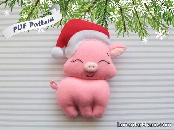 ساخت عروسک خوک جدید