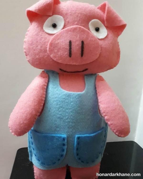 ساخت خوک نمدی