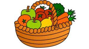 نقاشی میوه های پاییزی