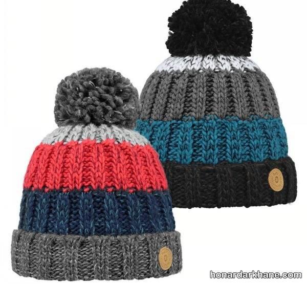 مدل کلاه بافتنی ساده