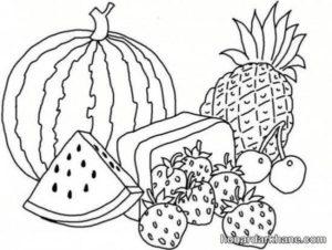 نقاشی میوه برای کودکان
