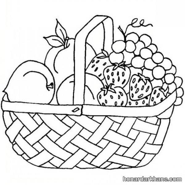 مدل رنگ آمیزی میوه های پاییز