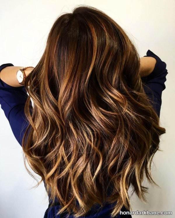 رنگ مو چند رنگ جدید