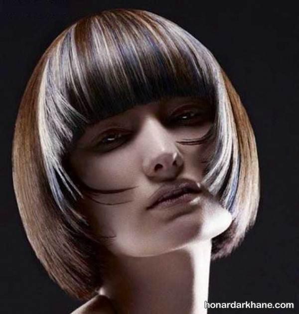 هایلات موی جلو صورت