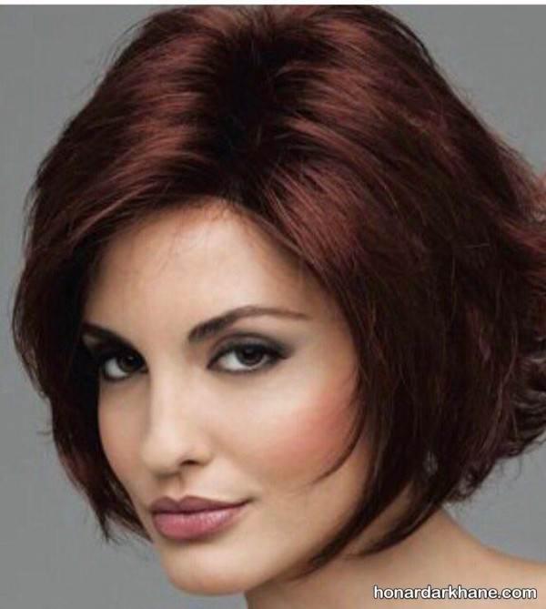 رنگ موی جدید قهوه ای