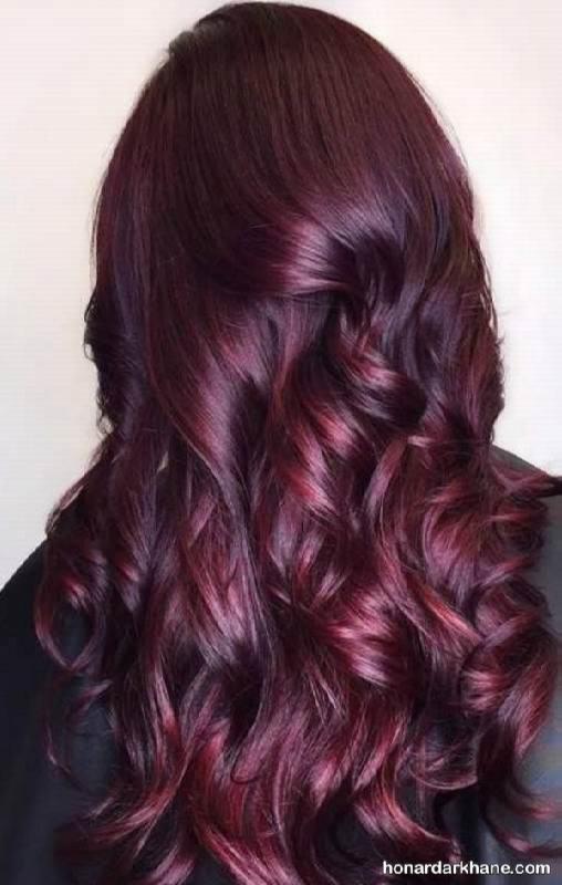 رنگ موی دو رنگ