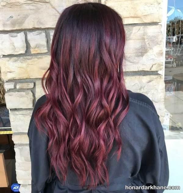 رنگ موی جدید زمستانی