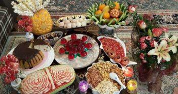 تزیین شب یلدا برای عروس