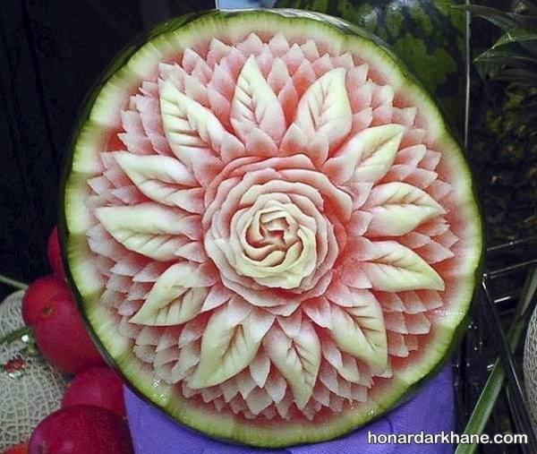 دیزاین هندوانه برای شب یلدا