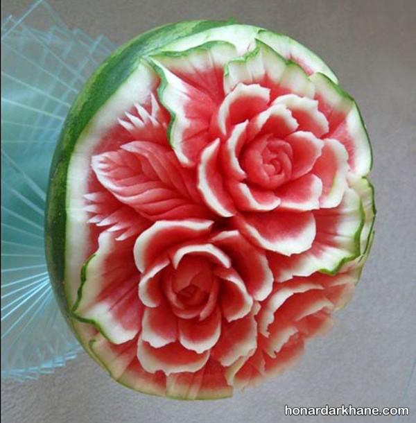 تزیینات زیبای هندوانه