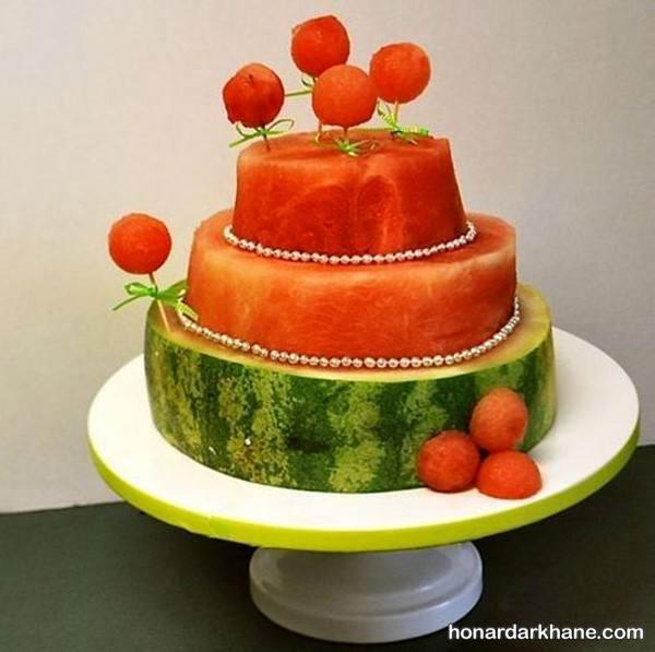 تزیینات هندوانه