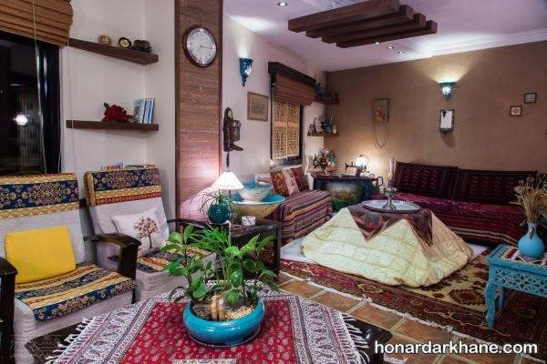 تزیینات سنتی خانه
