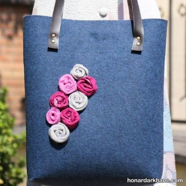 تزیین کیف دخترانه