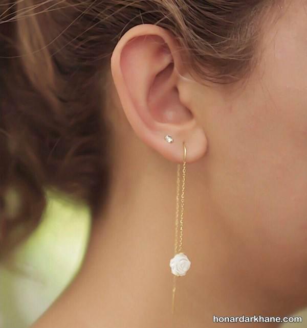 گوشواره های دخترانه جدید
