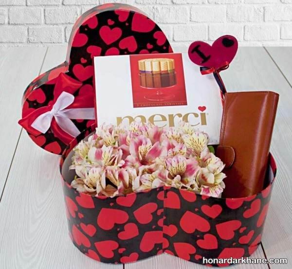 داخل جعبه کادو ولنتاین را با این روش ها تزیین کرده و عشق تان را سورپرایز نمایید