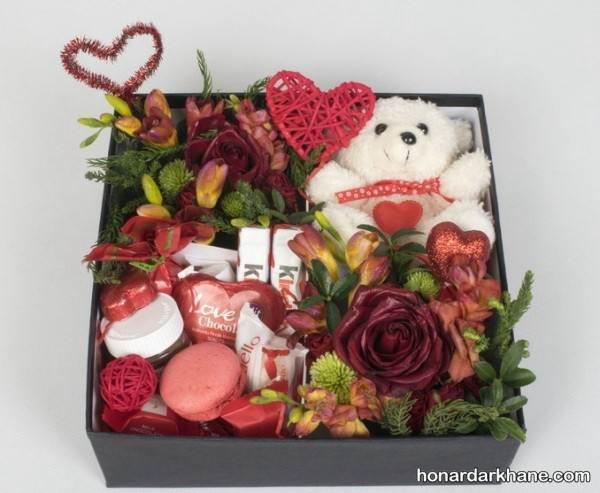 جعبه کادو برای ولنتاین