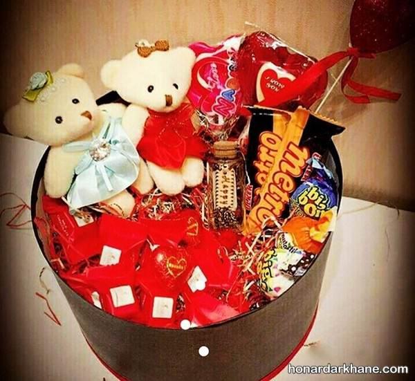 هدیه برای ولنتاین