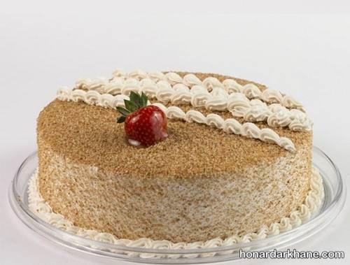 طرز تهیه کیک نسکافه ای