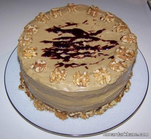 پخت کیک نسکافه ای