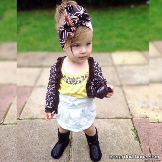 مدل لباس نوزادی عید 98