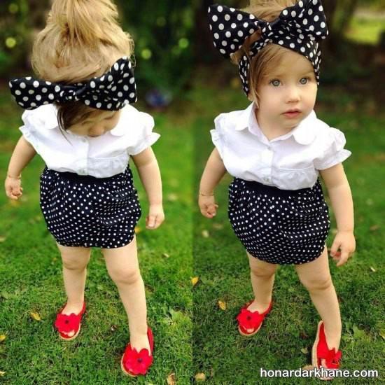 مدل لباس دخترانه عید